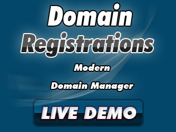 Modestly priced domain name registration & transfer services